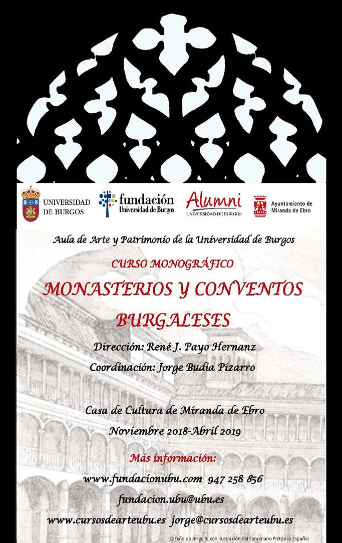 2018-2019 Cartel Monasterios y Conventos Miranda
