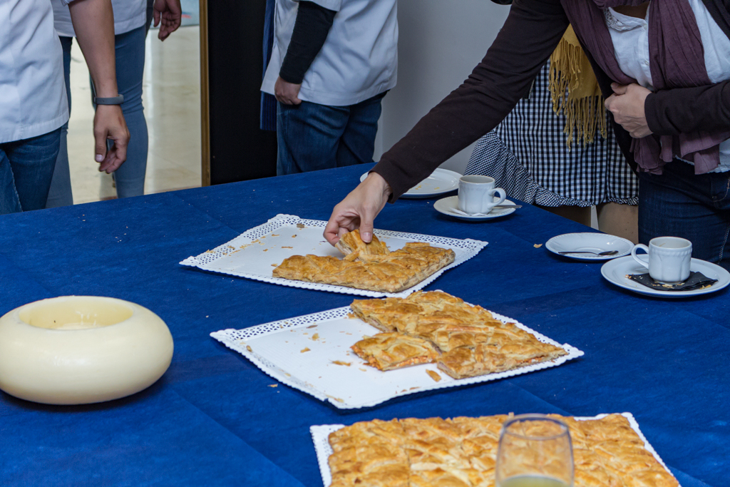 Degustación curso de Panadería y Bollería