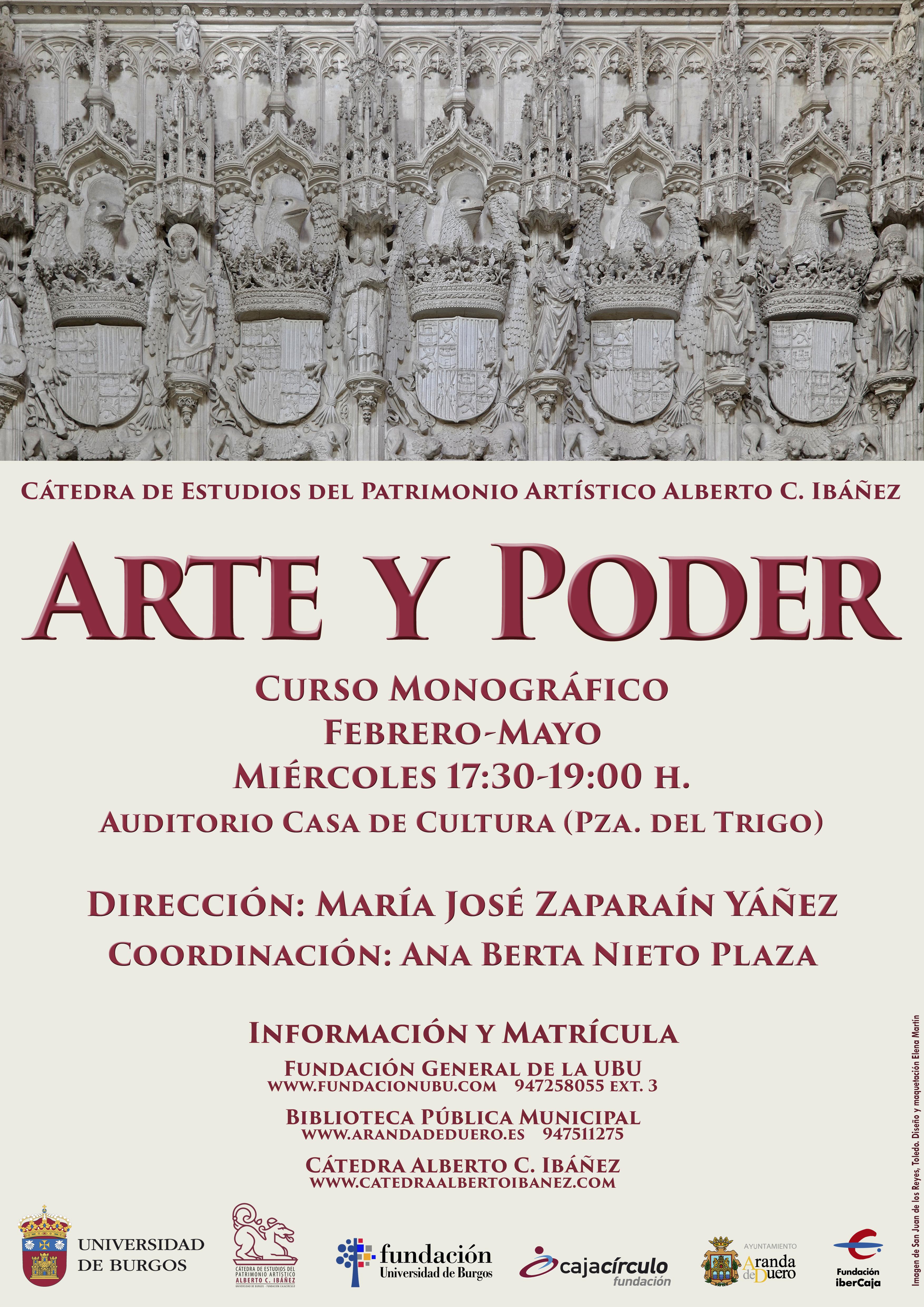 2019 Cartel Arte Poder Aranda