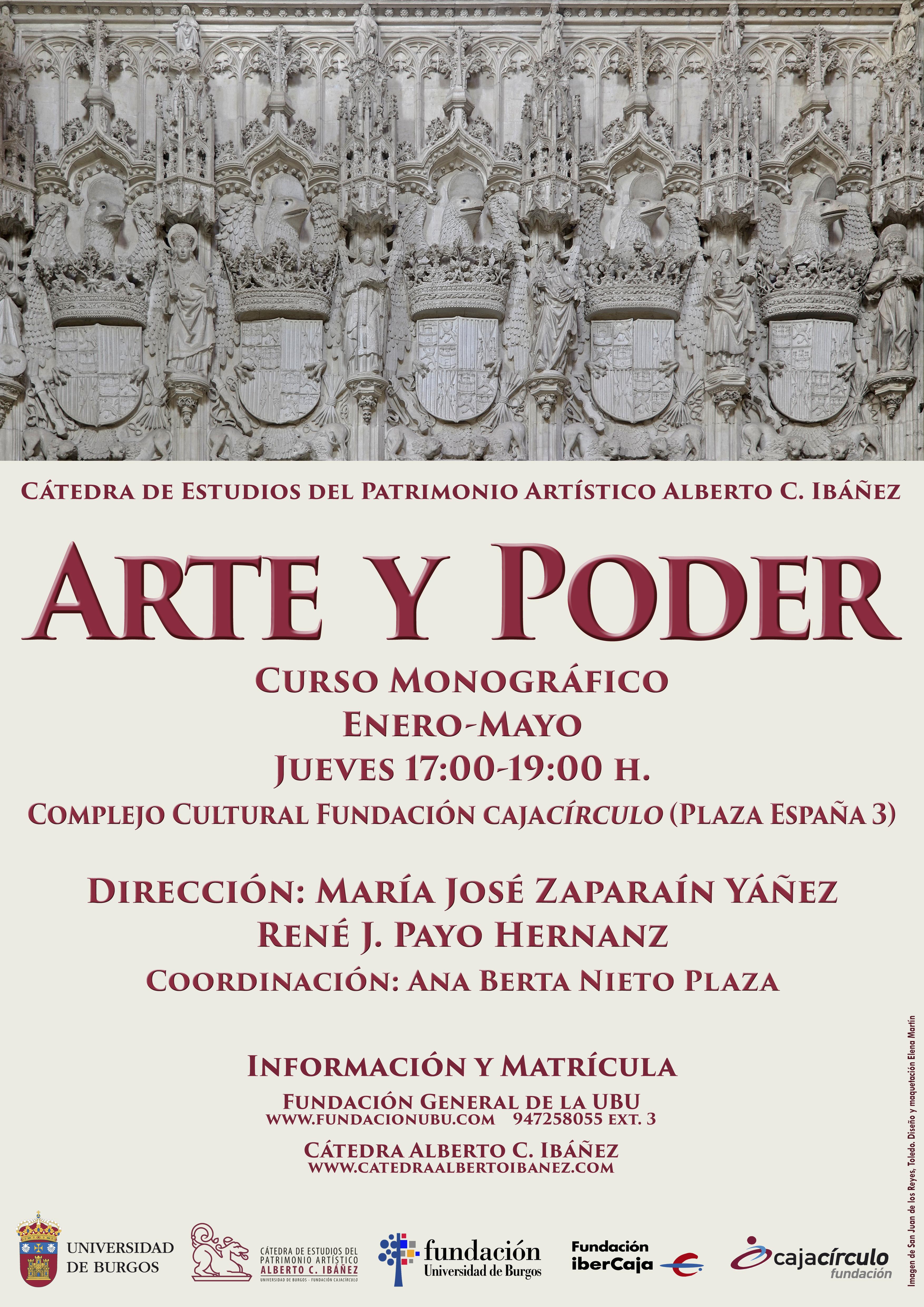 2019 Cartel Arte Poder Burgos