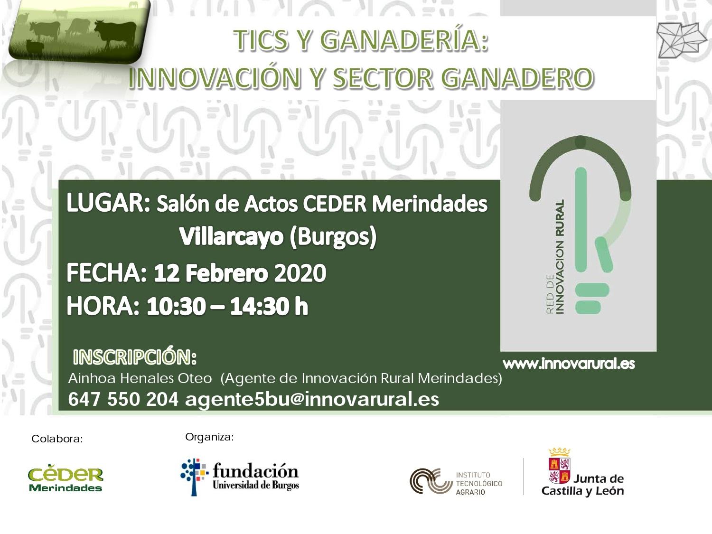 CARTEL Jornada BU_TICS Y GANADERIA