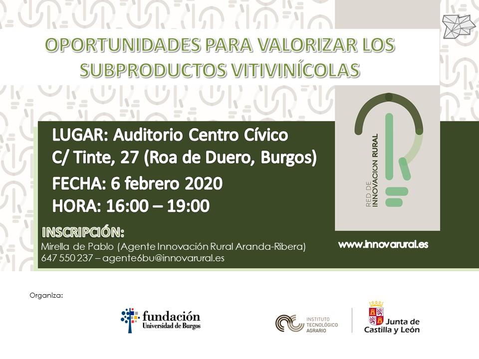 Cartel Jornada_SubproductosVitivinicolas